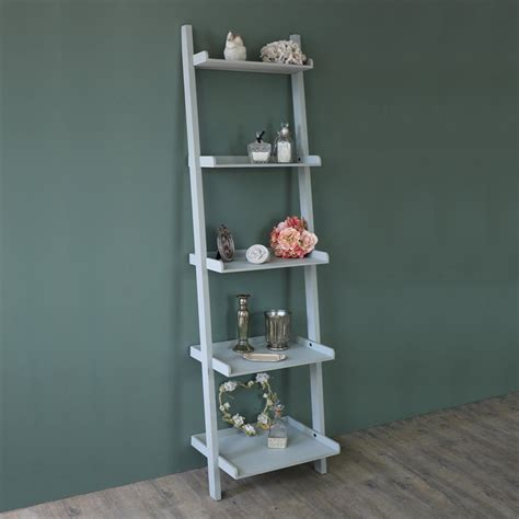 bedroom display shelves grey ladder shelf bookcase shelves display storage