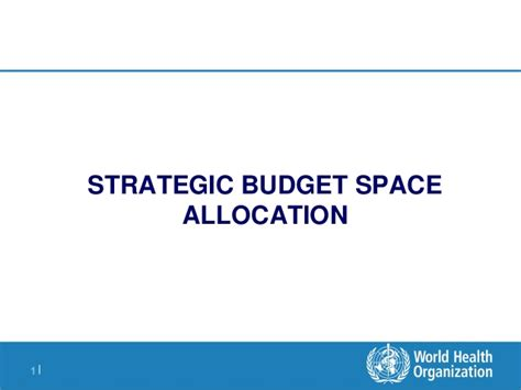 Office Space Allocation Guidelines Strategic Budget Space Allocation