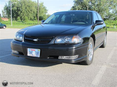 2004 impala package 2004 chevrolet impala ss indy pace car package id 21881