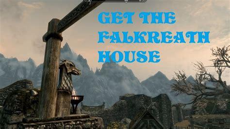 falkreath house the elder scrolls v skyrim how to get the falkreath house tutorial hearthfire