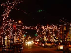 lights new jersey collingswood nj haddon avenue decked in