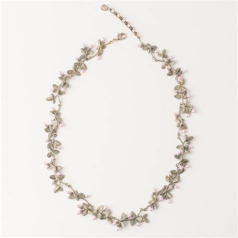 contour for jawels thyme contour necklace michael michaud jewelry