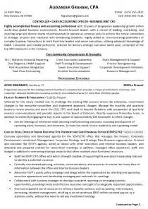 Sample Resume Format For Accounts Officer by Resume Sample 3 Controller Chief Accounting Officer