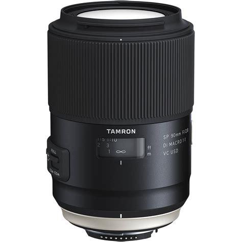best tamron lenses tamron sp 90mm f 2 8 di macro 1 1 vc usd lens aff017n700 b h