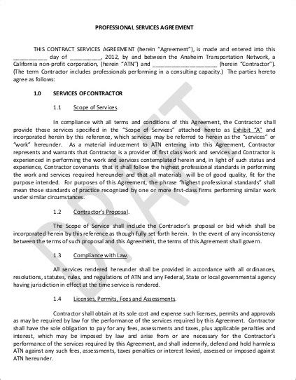 35 Service Agreement Templates Free Word Doc Pdf Formats Creative Services Agreement Template