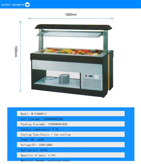 restaurant buffet tables for sale cold food display restaurant led buffet tables used