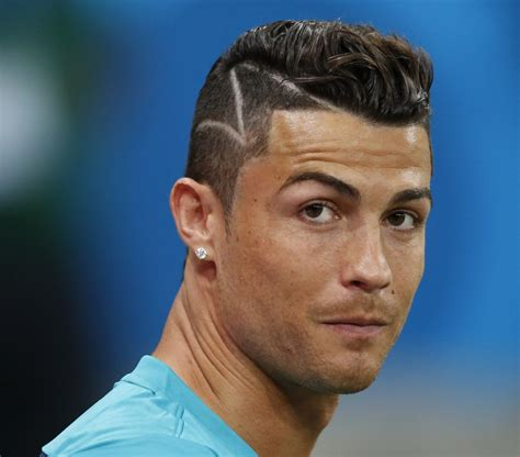 great soccer haircuts cristiano ronaldo hairstyle collection ronaldo