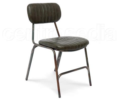 sedie vintage flint sedia metallo imbottito sedie vintage e industriali