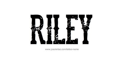 riley tattoo design name pictures to pin on tattooskid