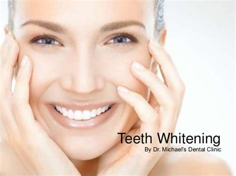 teeth whitening  dr michaels dental clinic  dubai uae