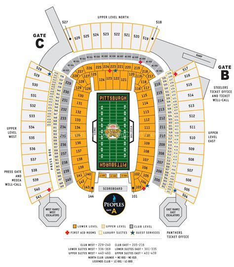 row of seats synonym image gallery heinz field seating chart