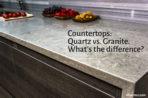 countertops quartz vs granite what s the difference