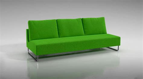 modern green sofa 3d model cgtrader
