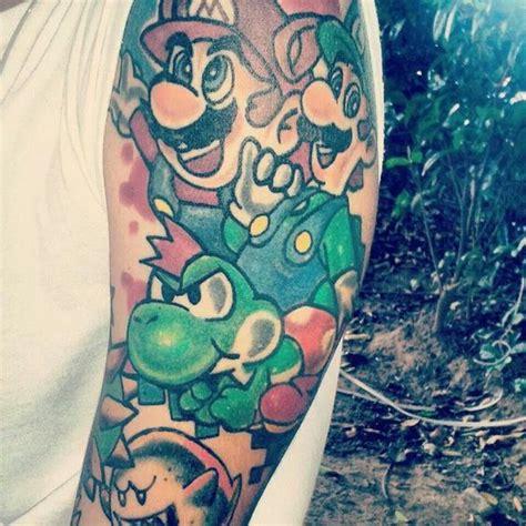 mario tattoo you instagram super mario tattoo miscellaneous pinterest