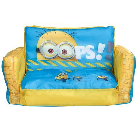 minion couch b m minions flip out sofa children s furniture