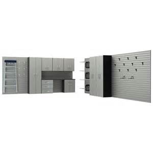 flow wall deluxe modular wall mounted garage cabinet