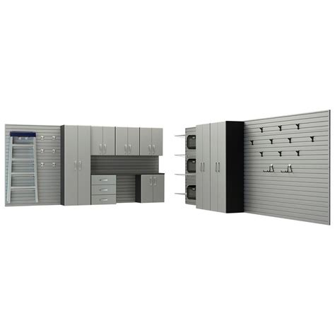 flow wall garage cabinets flow wall deluxe modular wall mounted garage cabinet