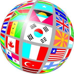 International Flags Clipart sphere flags clip at clker vector clip