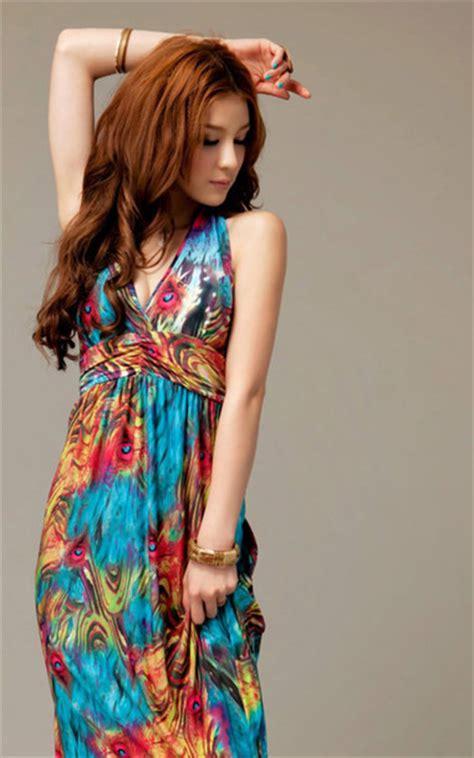 colorful summer dresses dress grunge girly summer