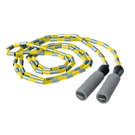 beaded jump ropes weider beaded jump rope wbjr11 the home depot