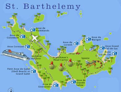 Bahama Heads To St Barts For A New Scent by Map Of St Barth S Pictures To Pin On Pinsdaddy