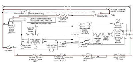 roper electric dryer diagram whirlpool dryer schematic