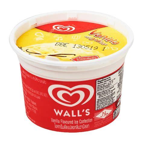 Flavour Vanilla Aromas 90ml wall s vanilla cup 0 from redmart