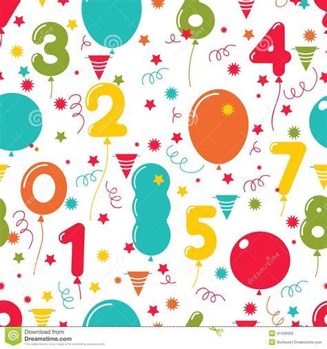 Stelan Balon Motif All Size seamless pattern of birthday balloons stock vector