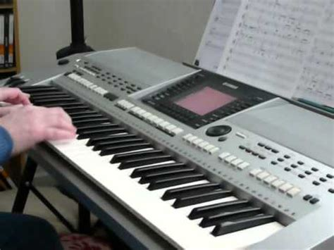 tutorial keyboard yamaha yamaha psr s900 ring of fire youtube