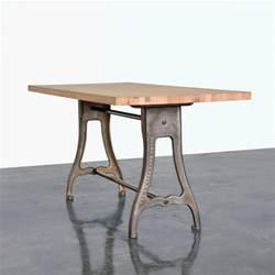 standing height kickpress table fern roby