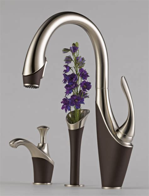 designer kitchen faucets modern unique kitchen faucet designs