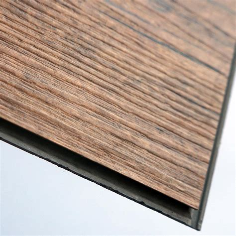 anti slip wood grain pvc interlocking vinyl flooring