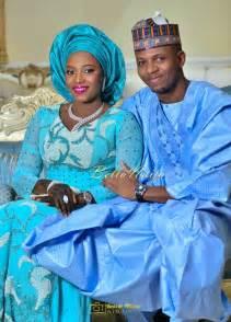 hausa traditional wedding attire bellanaija bride zainab bellanaija groom abdullahi in