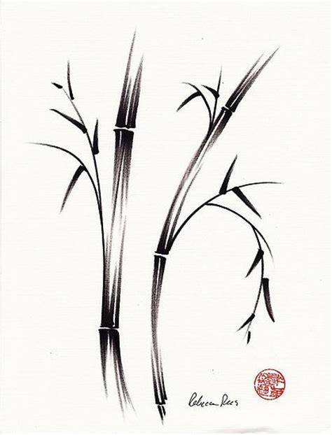zen tattoo ointment bending bamboo tattoos pinterest tattoo chinese