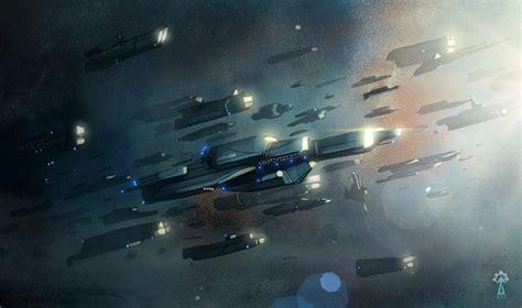 sci armada armada by ksiaze krzysztof illustration sci fi