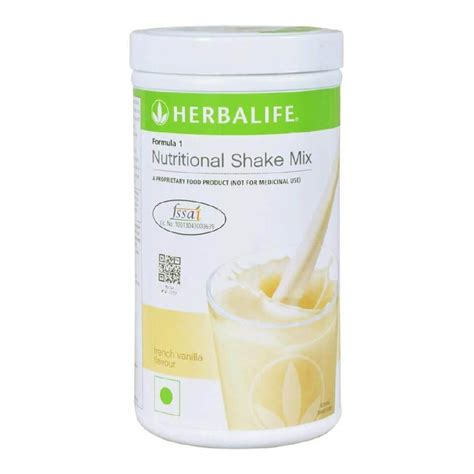 herbalife shake mix vanilla 1 herbalife formula 1 nutritional shake mix 0 5 kg