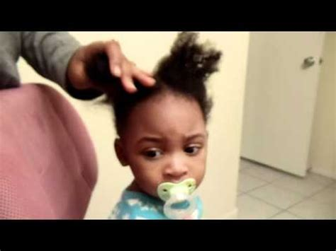 hair gel for a 1yr old simple hair styling 1 year old hair youtube