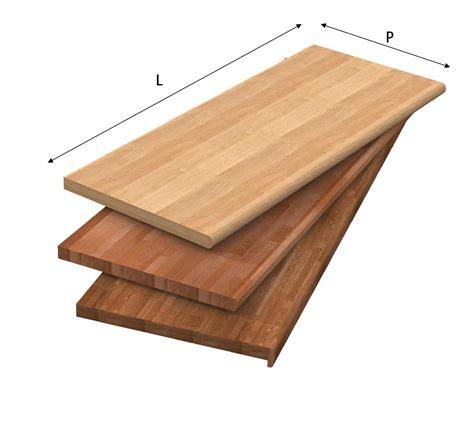piani in legno per cucine top per cucine in legno lamellare massello
