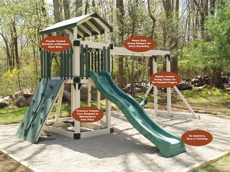 Carefree Playscape Features