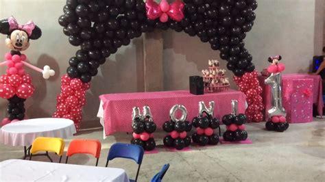 decoracion de minnie para cumplea os minnie mouse cumplea 241 os decoraci 243 n centros de mesa baby