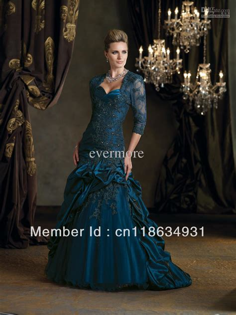 lace trumpet mother of the bride dress 98608 evening dresses mermaid trumpet long sleeves lace appliques satin faced