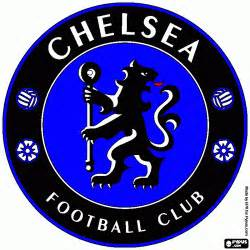 chelsea colors free coloring pages of chelsea logo