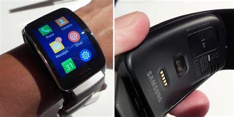 Jam Smartwatch Samsung Samsung Gear S Jam Tangan Pintar Berkoneksi 3g Kompas