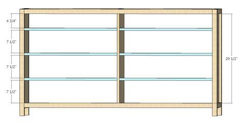 Plans For A Dresser by Woodwork 8 Drawer Dresser Plans Pdf Plans
