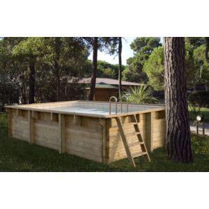 Piscine Bois Hors Sol 325 by Spark Kit Piscine Bois Hors Sol Rectangulaire Luxe 425 X