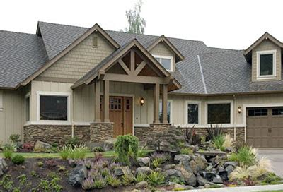 Home Exterior Decorative Accents by Creating An Authentic Craftsman Home