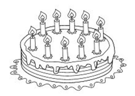 kuchen für 1 geburtstag geburtstag kuchen 10 kerzen happy birthsday coloring