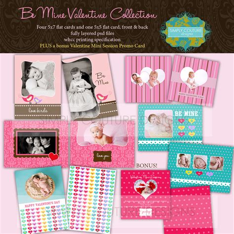 Be Mine Card Template by Be Mine 35 Simply Couture Designs