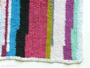 grow creative crochet t shirt rug pattern