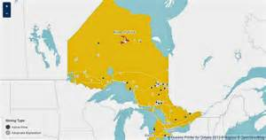 gold in canada map prospectors canada panning for gold in ontario canada